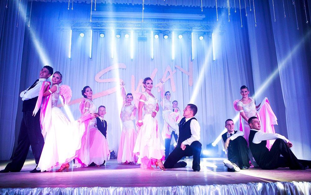 Зразковий ансамбль сучасного бального танцю «SWAY»