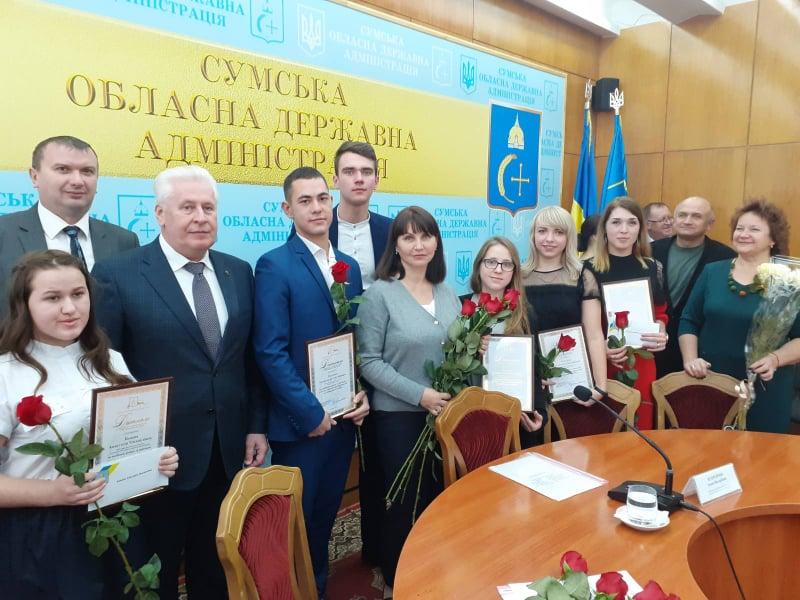 Cтуденти СНАУ отримали іменні стипендії голови Сумської ОДА