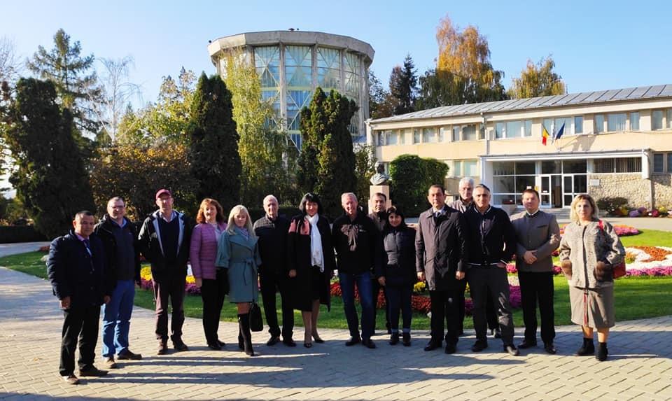 Команда TOPAS-СНАУ  прийняла участь в робочій зустрічі проекту на базі Університеті сільськогосподарських наук та ветеринарної медицини  Iasi (UASVM, Румунія)