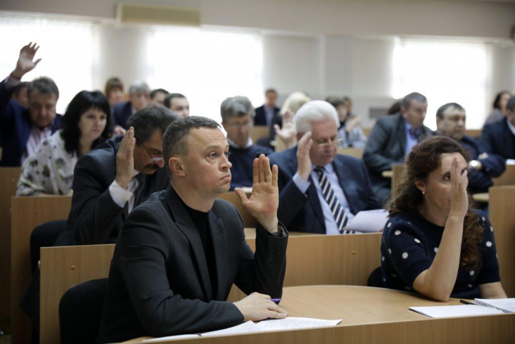 У Сумському НАУ відбулося засідання Вченої ради