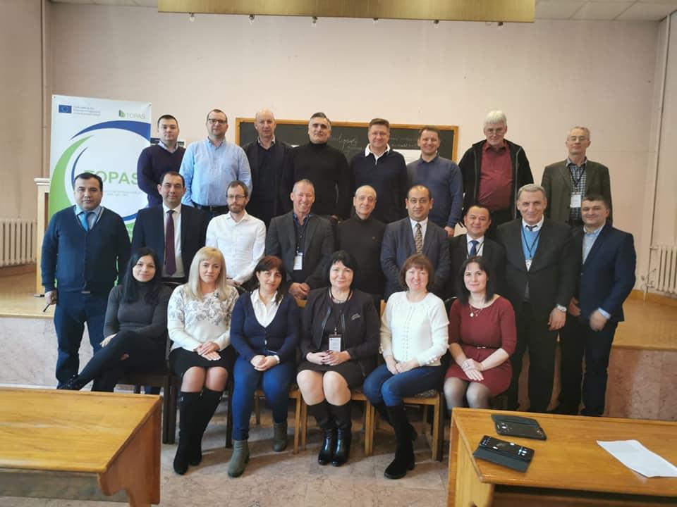 Команда TOPAS-СНАУ  взяла участь в робочій зустрічі проєкту на базі Єреванського державного університету