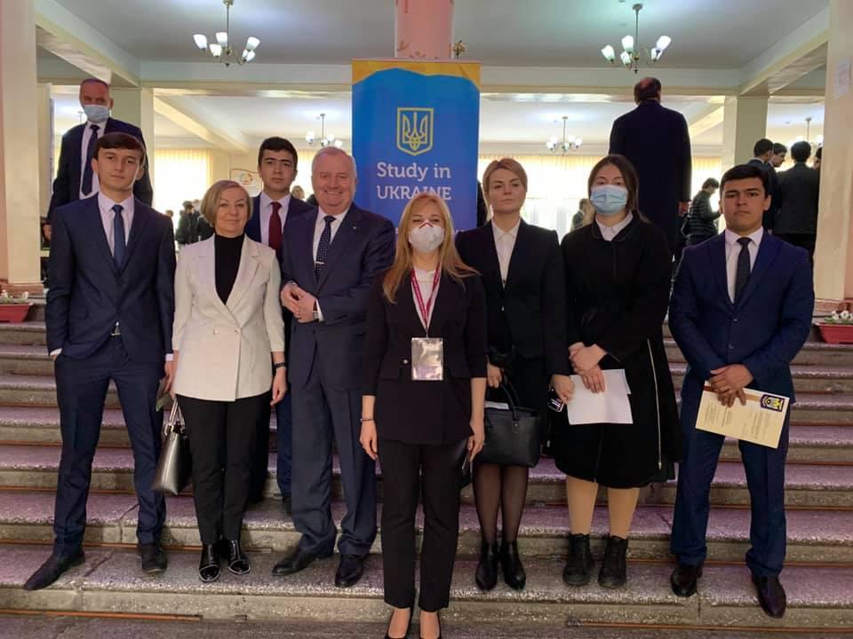 Ректор СНАУ взяв участь в урядовому візиті в Таджикистан