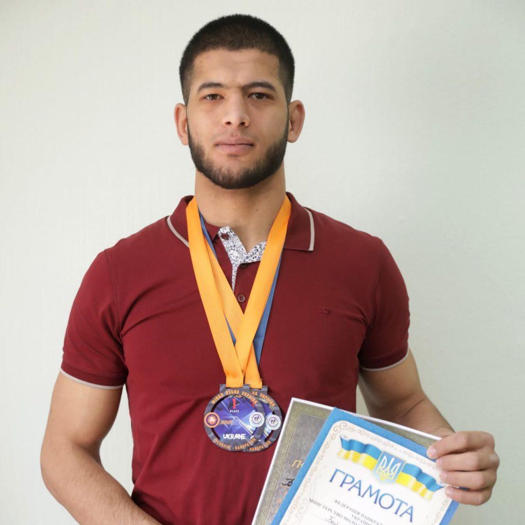 Студент СНАУ став чемпіоном України з панкратіону