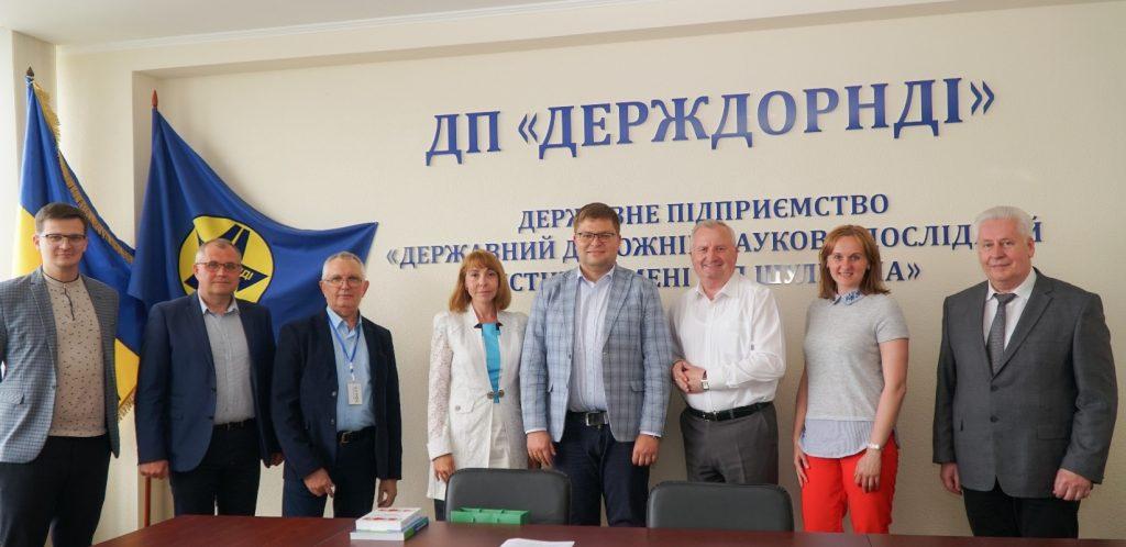 Будівельний факультет СНАУ побував у гостях Держдор НДІ