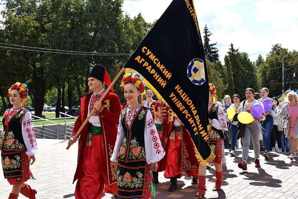 До 366 річниці Дня міста Суми вперше відбувся студентський фестиваль –  «Суми єднає молодь».