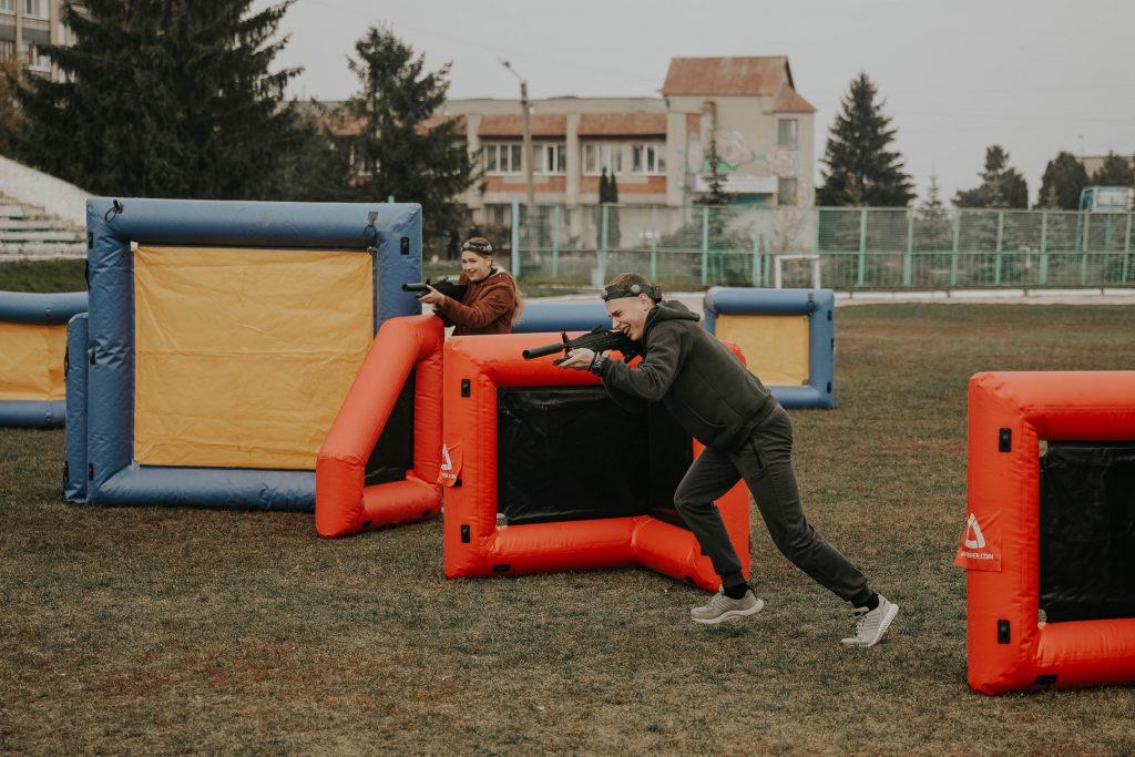Кубок ректора з лазертагу влаштували до Дня Українського козацтва та Дня захисників України